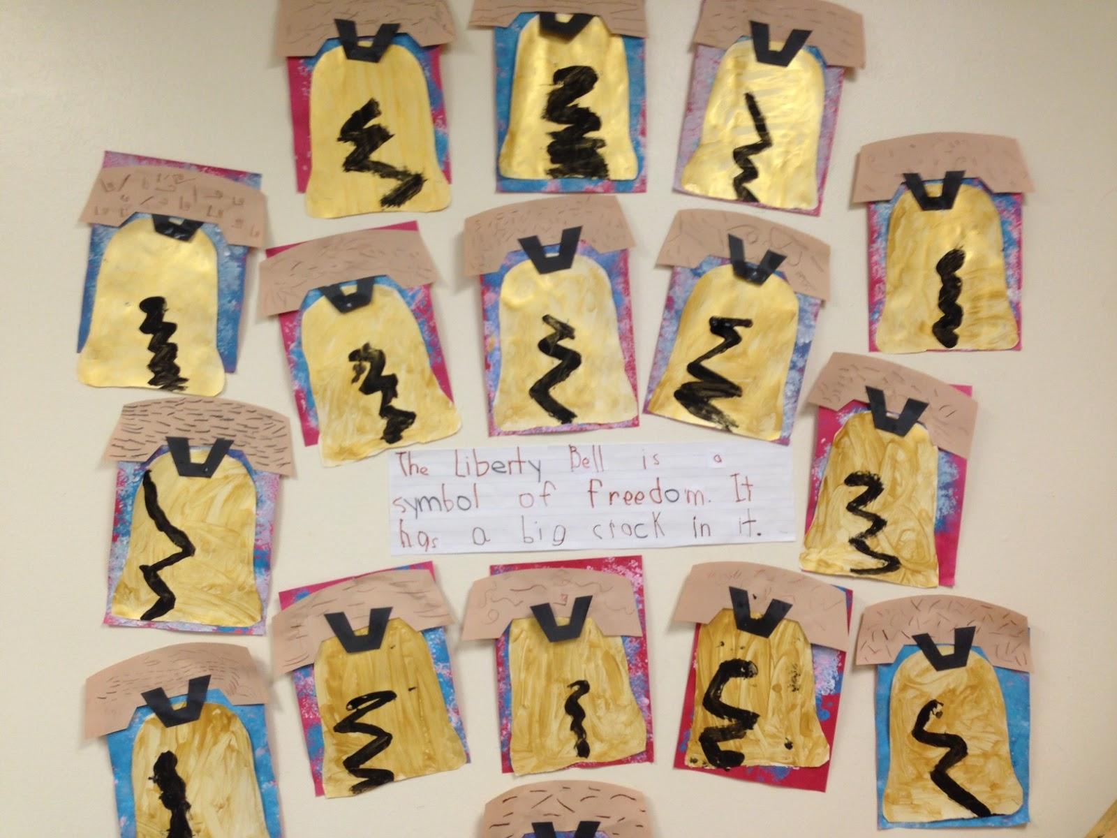 Chalk Talk A Kindergarten Blog The Liberty Bell
