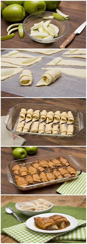 7UP Apple Dumplings