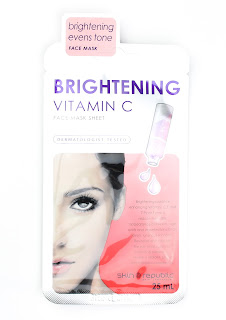 Skin Republic Brightening Vitamin C Face Mask Sheet review