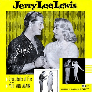 Great balls of fire. Jerry Lee Lewis