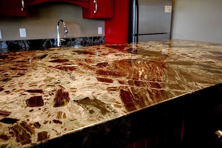 Petrified Gemstone Countertops Kitchen Bathroom
