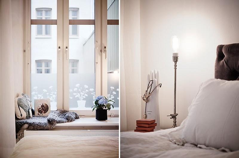 Biały apartament z nowoczesną kuchnią i dodatkami glamour, wystrój wnętrz, wnętrza, urządzanie domu, dekoracje wnętrz, aranżacja wnętrz, inspiracje wnętrz,interior design , dom i wnętrze, aranżacja mieszkania, modne wnętrza, styl skandynawski, styl nowoczesny, glamour, białe wnętrza, sypialnia