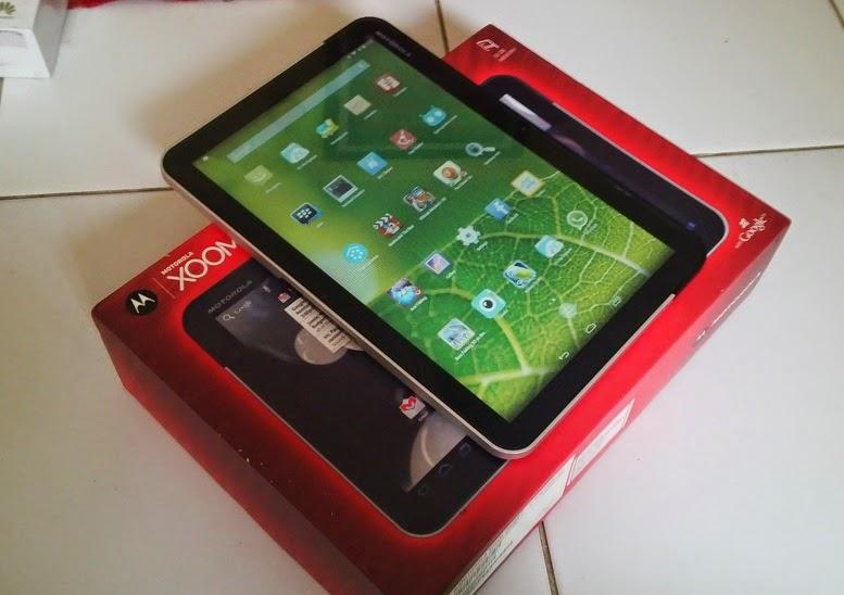 Tablet second Motorola Xoom MZ601