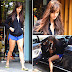 Disha Patani is Sizziling in Black Top and Blue Short