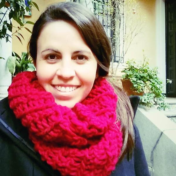 Cuello - Bufanda Infinita a Crochet con los Dedos