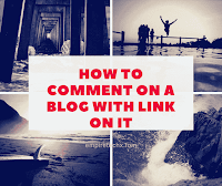 How to leave a comment on a blog with a link on it for building backlinks