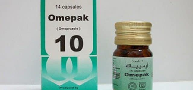 سعر كبسولات أوميباك Omepak لعلاج الحموضة