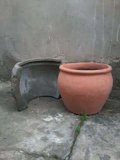 moldes para hacer macetas de cemento