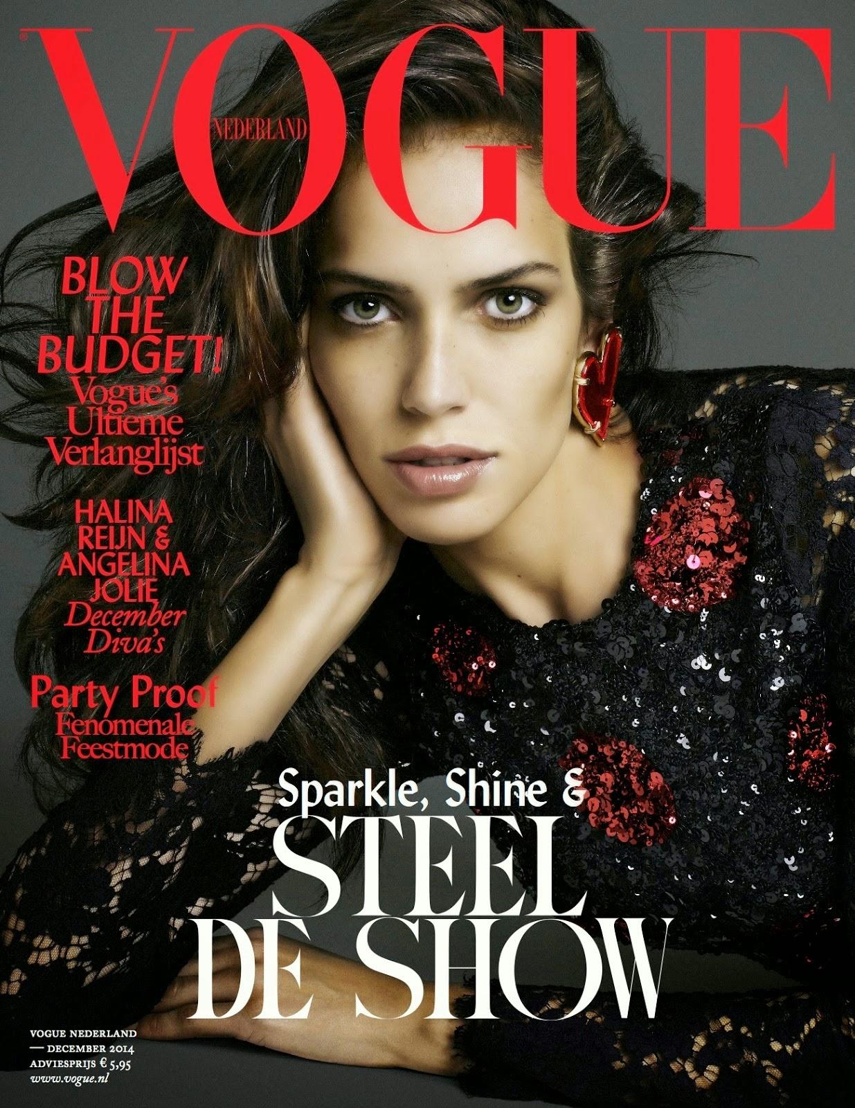 3d592049caaf09 Amanda Wellsh for Vogue Netherlands December 2014