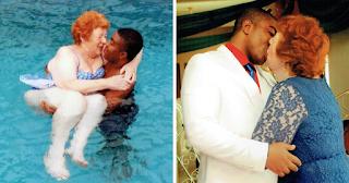 Γιαγιά 72 χρονών βρήκε την αγάπη σε ένα Νιγηριανό άνδρα 45 χρόνια νεότερο
