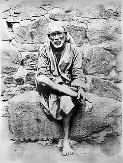 Sai Baba of Shirdi.