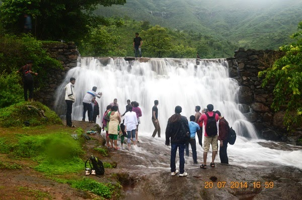 water fall near pune
