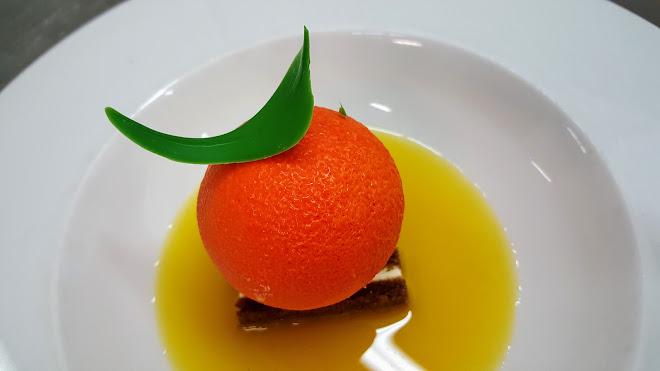 Mandarine en trompe-l'oeil