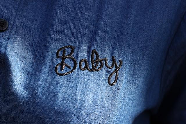 Lazy Oaf baby denim dress