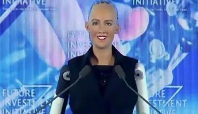 Arab Saudi Berikan Kewarganegaraan Kepada Robot Sophia