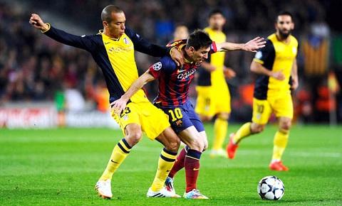 Missi góp phần quan trọng trong chiến thắng của Barca