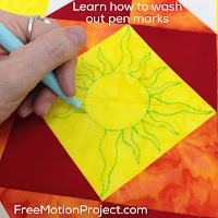 How to wash out pen marks