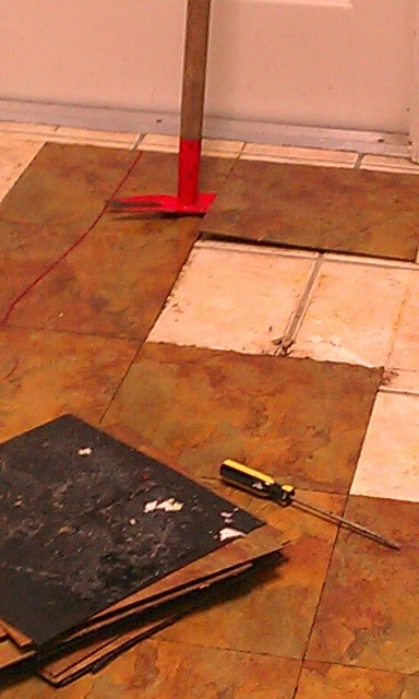 Removing Ceramic Tile Kitchen Countertops