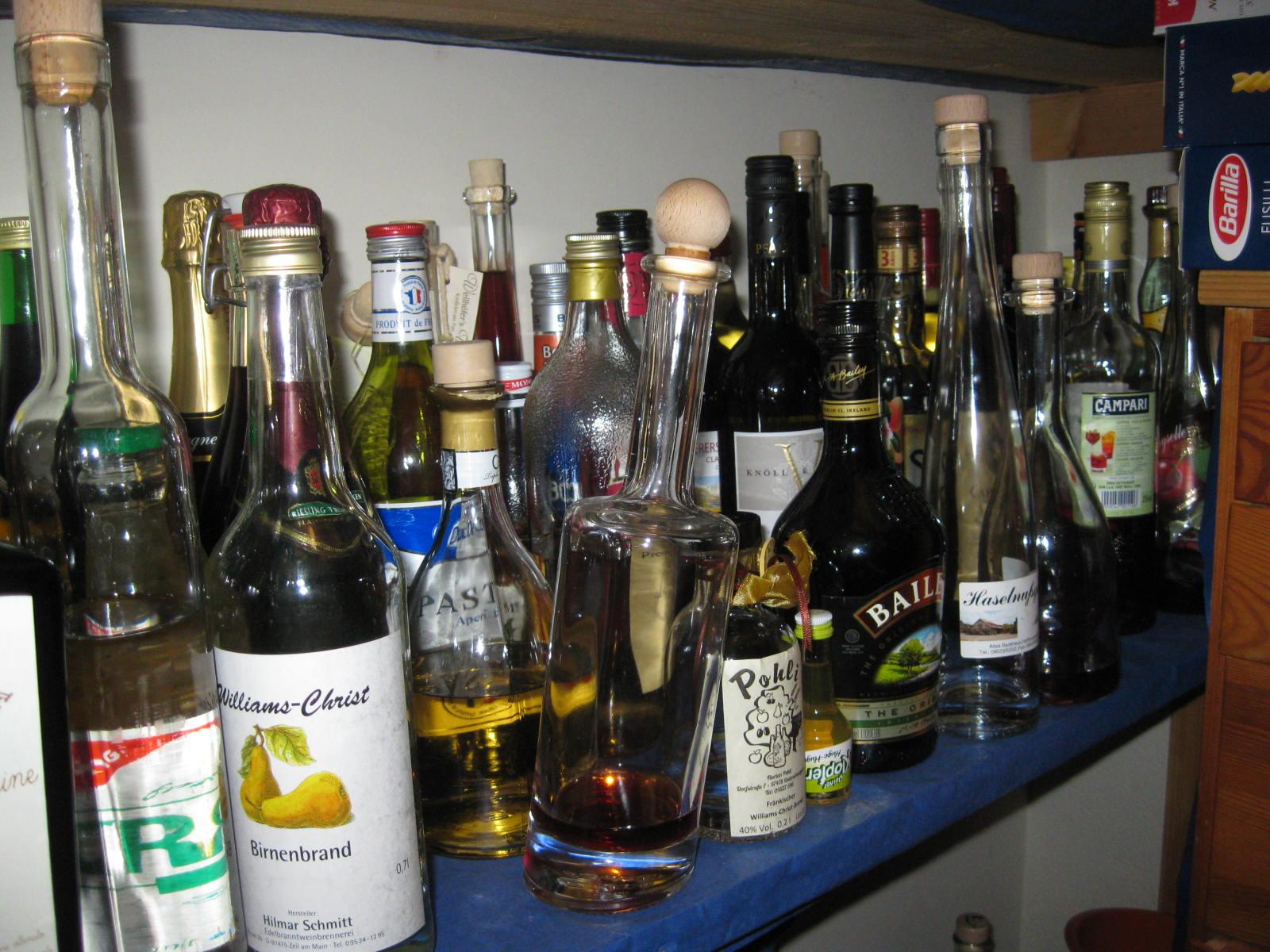 Valomeas Flickenkiste Entrümpeln Aufgabe 8 Alkohol