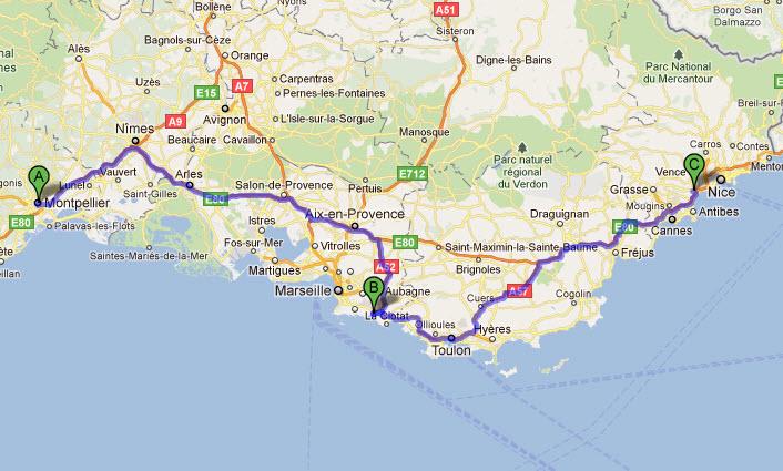 karta över södra frankrike Maria renoverar: Cassis, Frankrike karta över södra frankrike