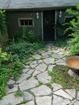 Leslieville Summer Backyard Garden Cleanup Before by Paul Jung Gardening Services--a Toronto Gardening Company