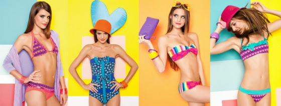 Agatha Ruiz De La Prada 2012 Swimwear Collection!