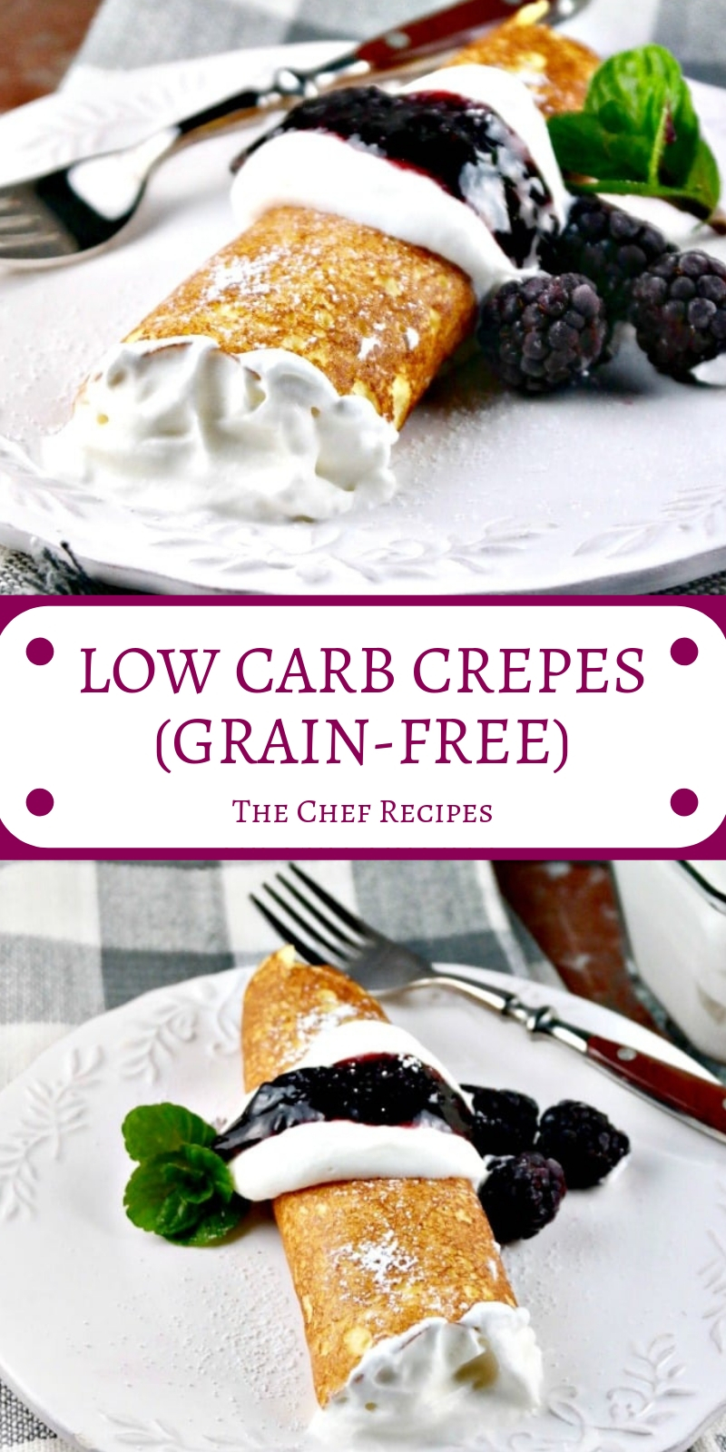 LOW CARB CREPES (GRAIN-FREE)