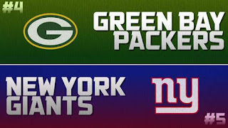 NFL Wild Card Packers Giants