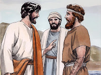 Jesus' first disciples 5