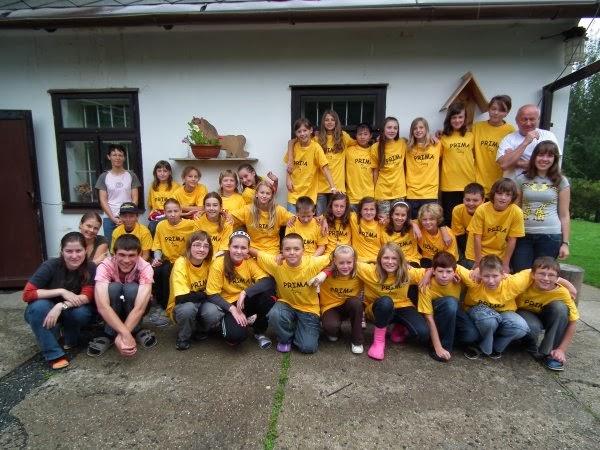 Školní seznamovací kurz Cyrilometodějského gymnázia v Prostějově