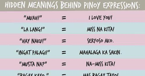 Hidden Meaning Behind Pinoy Expressions - Viral on Social Media