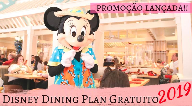 Cape May no Disney's Polynesian Resort- é um dos restaurantes que você pode usar o Dining Plan