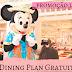 Promoção Disney Dining Plan 2019 Grátis lançada hoje