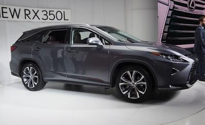 2019 Lexus RX L, multisegment de luxe à sept rangées, 7 places