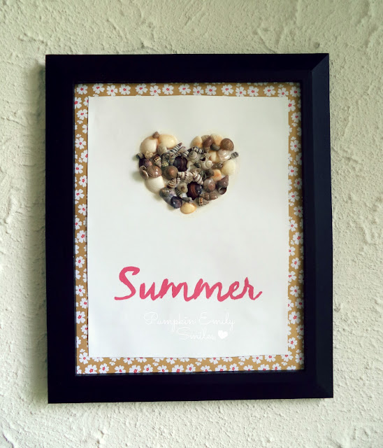 Seashells Frame Art