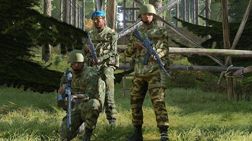 Arma3用ロシア連邦軍の歩兵ユニット