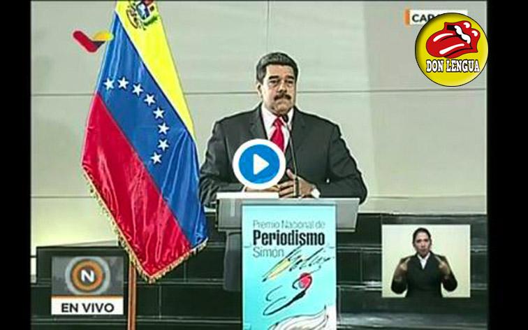 Maduro insultó a Mike Pence llamándolo culebra venenosa