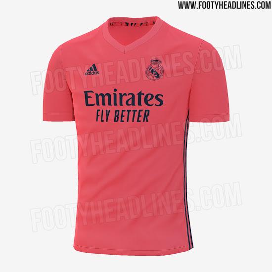 Real Madrid 20-21 Away Kit Leaked - Footy Headlines