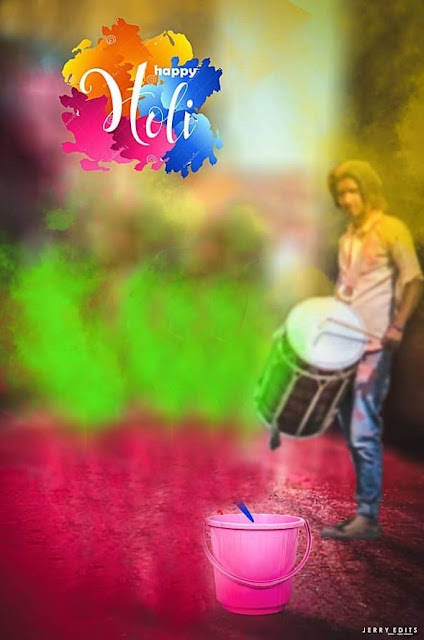 Happy holi hd background picsart