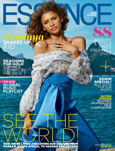 Actress, Singer, Model, @ Zendaya for Essence Magazine August 2016