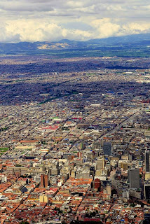 Bogotá DC, Colombia: It might look well from the air, but there are plenty of problems within; one of the biggest of those being corruption.