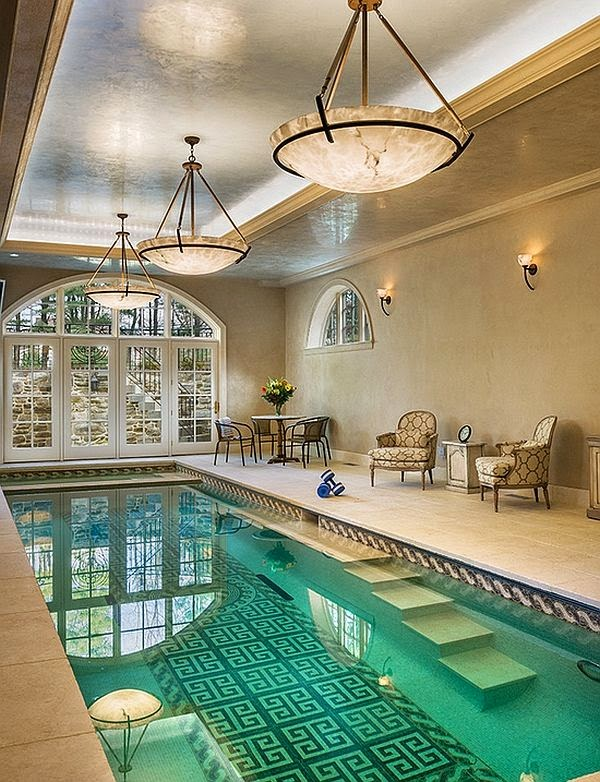 Diseño piscina interior