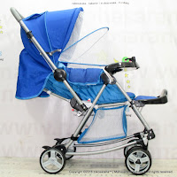 Hugo K15 Baby Stroller Sticks Front Facing Rear