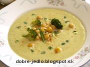 Cícerovo-brokolicová polievka - recept