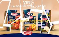 Logo Promozione Barilla: anticipazione del concorso '' Vinci la bontà fatta a pezzi ''