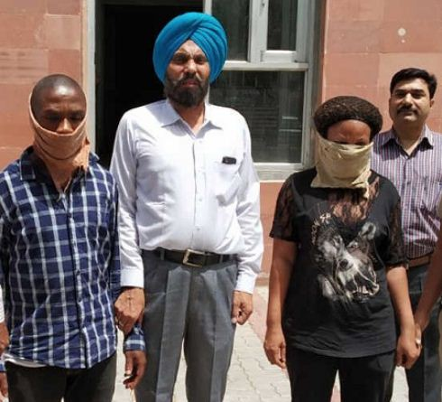 nigerian-couple-caught-with-cocaine-heroin-in-india