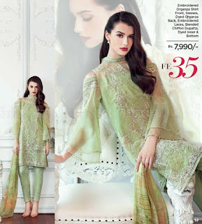 Gul Ahmad Festive Eid Silk Collection 2017