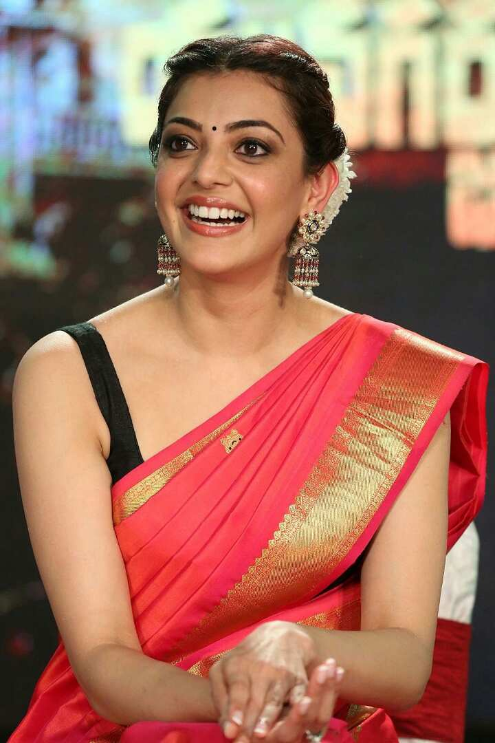 Actress KajalAggarwal In Saree Images