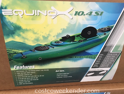 Costco 1100938 - Future Beach Equinox 10.4 SI Kayak: great for exercise and summer fun