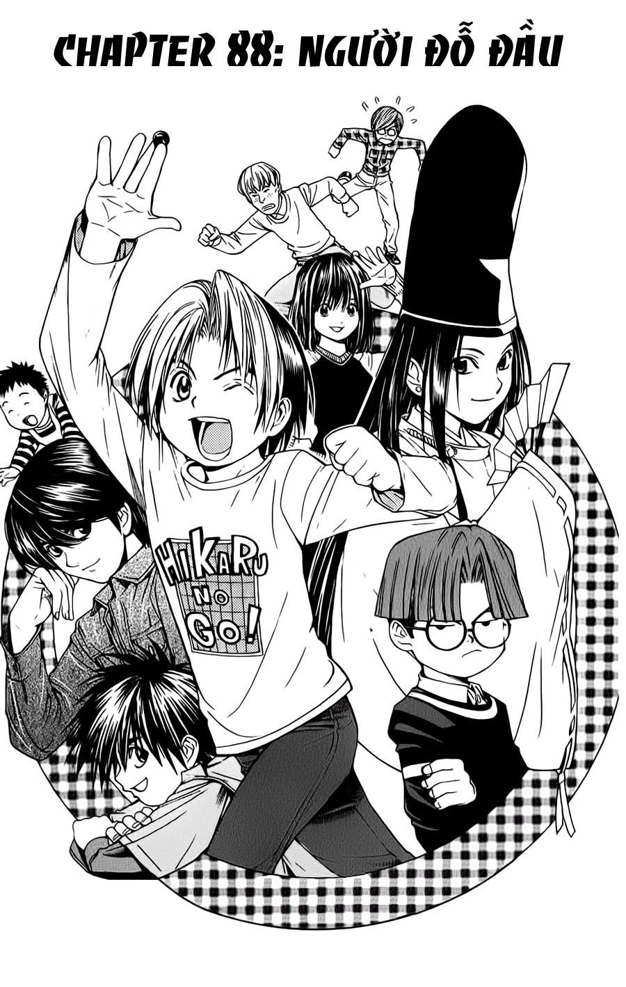 Hikaru No Go hikaru no go chap 88 trang 3